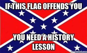 Confederate flag meme